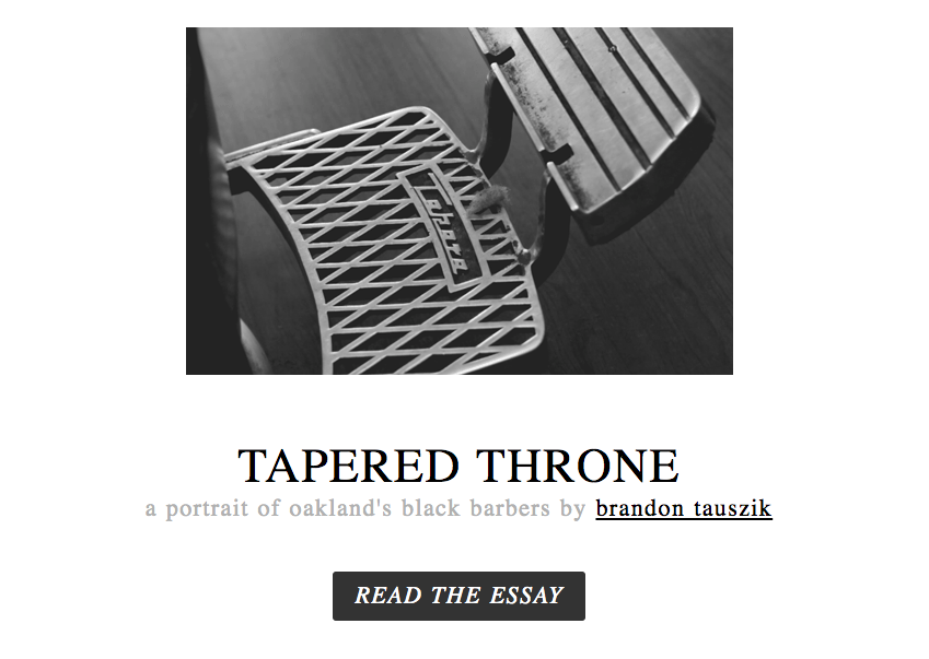 Tapered Throne